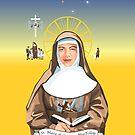 Saint Mary of the Cross MacKillop  by contourcreative