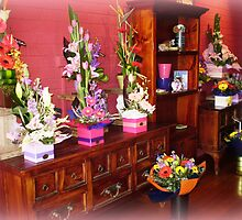Floral arrangement - Florist Shop by EdsMum