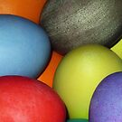 Colored eggs by zzsuzsa