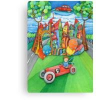 children's  car Canvas Print