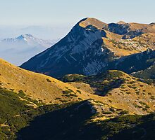Peaks of mountain Velebit by Ivan Coric