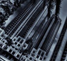 Among skyscrapers by Roberto Pagani