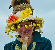 Easter Parade Hat Competition ~ Lyme Regis by Susie Peek