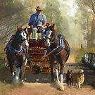 At Durdidwarrah Crossing by Trudi&#x27;s Images