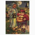Trick R' Treat (Vintage Halloween Card) by Welte Arts & Trumpery