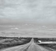 A remote road to nowhere by Erykah36