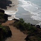 Steps Down to the Beach Varkala by SerenaB