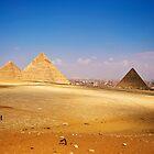 Pyramids of Giza by eddiechui