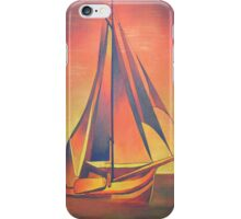 Sienna Sails at Sunset iPhone Case/Skin
