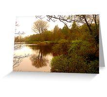 Lake Gartan Greeting Card