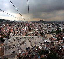 """Complexo do Alemão from the Cable Car...""  by Leonardo Martins"