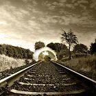 Eye see the train by John Ryan