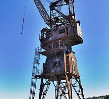 Slipway Crane by Ian Berry