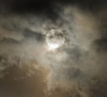 Cloudy Moon by Coreena Vieth
