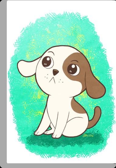 Lil Puppy by Alexandra Salas