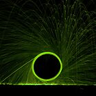 Wire Wool Green by James Taylor