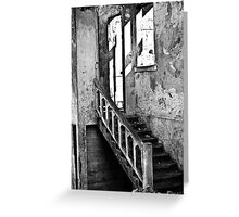 The decay of Alcatraz Greeting Card