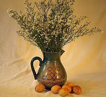 Latvian Easter Scene by Andrejs Jaudzems