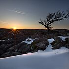 Sundown On Malham Moor by SteveMG