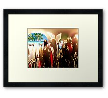 The Mirage Framed Print