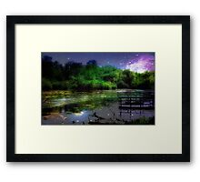 Magic Night © Framed Print