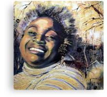 Dorrin Laughing Canvas Print