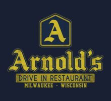 Arnold's Drive In Restaurant Navy by antibo
