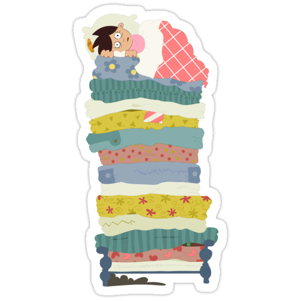 Princess and the Pea by alapapaju
