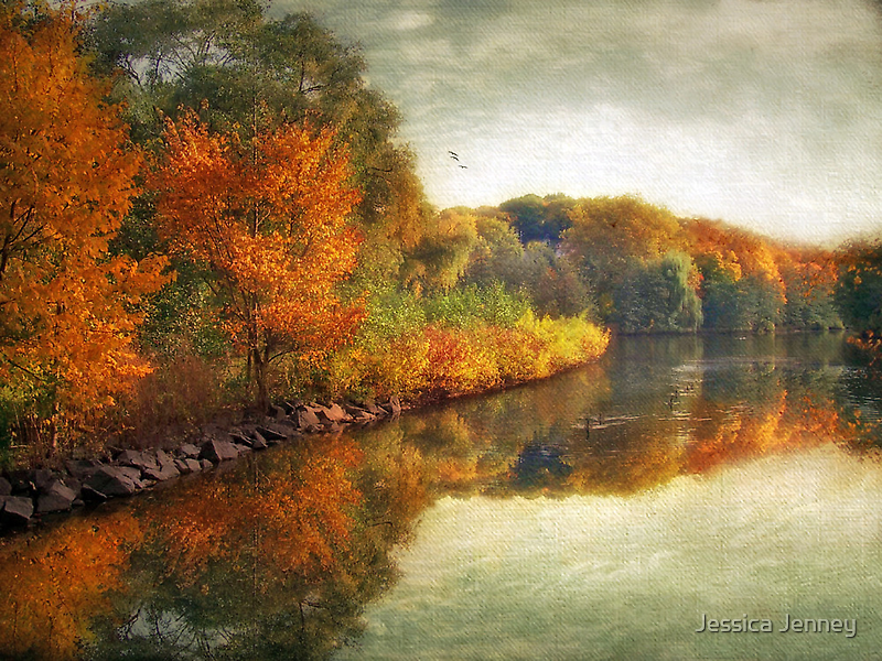 October Reflections by Jessica Jenney