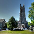 Duke University Chapel by Emily Enz
