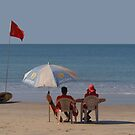 Life Guards on Palolem Beach by SerenaB
