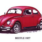 Volkswagen Beetle 1957. by mrclassic