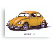 1957 Volkswagon Beetle Canvas Print
