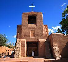 Santa Fe - San Miguel Chapel by Frank Romeo