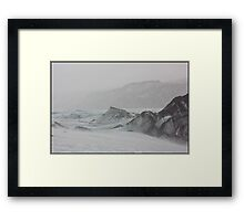 Ice Storm Framed Print