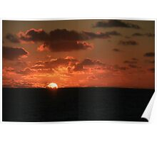 Sunset on Scilly Poster