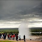 Crazy views of Iceland, Geysir. by Cappelletti Benjamin