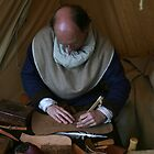 Medieval Leather Worker by patjila