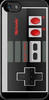 NES CRYSTAL-IZED CONTROL BLACK CLASSIC NINTENDO  by HKS588