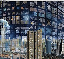 City Reflected - Bending Light by AlienVisitor