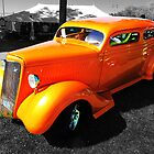 Orange Coupe by Darcy Overland