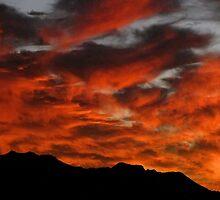 Sunset over Kaimuki III by ZWC Photography
