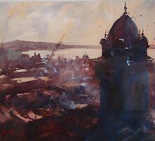 Montevideo's old town, Uruguay by Hugh Cross