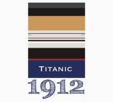 Titanic | 1912 | Graphic by 8eye