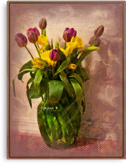 Flowers in Vase by Lucinda Walter