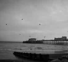 British seaside by Louise Delahunty