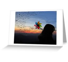 For the Birds Greeting Card