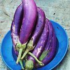 More Aubergines. by Margaret Stevens