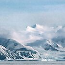 Transantarctic Range, Victoria Land, Antarctica by Carole-Anne