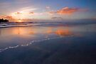 Low Tide Sunset by photosbyflood